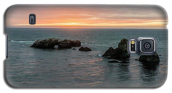 Sea Stacks In Sea Ranch Galaxy S5 Case