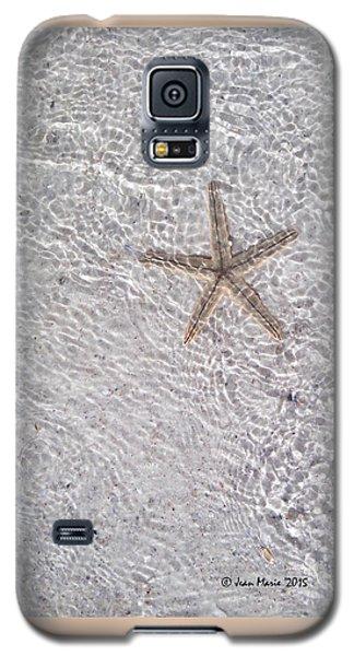 Galaxy S5 Case featuring the photograph Sea Star 11 Anna Maria Island by Jean Marie Maggi