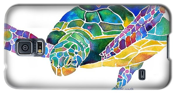 Reptiles Galaxy S5 Case - Sea Turtle Celebration 4 Prints Only by Jo Lynch