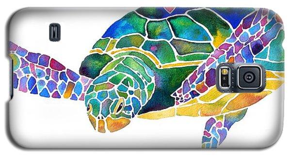 Sea Turtle Celebration 4 Prints Only Galaxy S5 Case