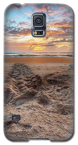 Sea Turtle Trails Galaxy S5 Case