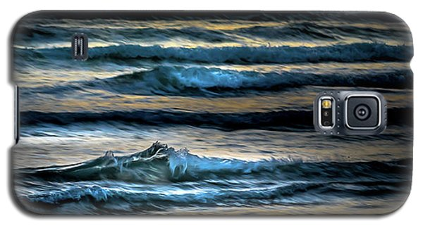 Sea Waves After Sunset Galaxy S5 Case
