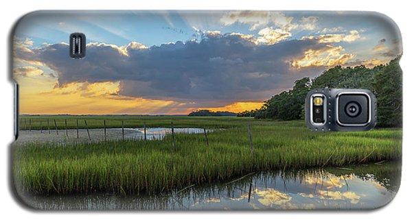 Seabrook Island Sunrays Galaxy S5 Case
