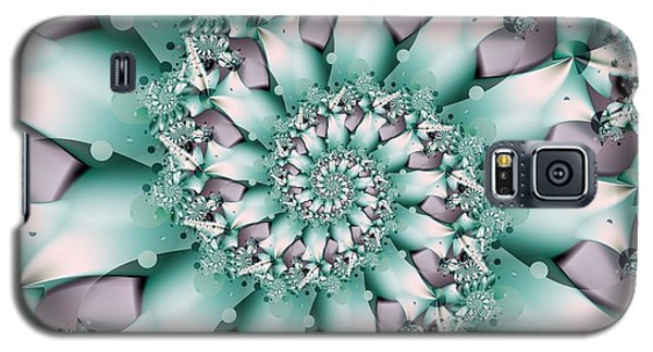 Galaxy S5 Case featuring the digital art Seafoam Spring by Michelle H