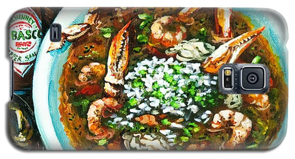 Seafood Gumbo Galaxy S5 Case by Dianne Parks