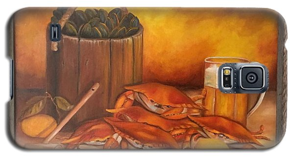 Seafood Night Galaxy S5 Case by Susan Dehlinger