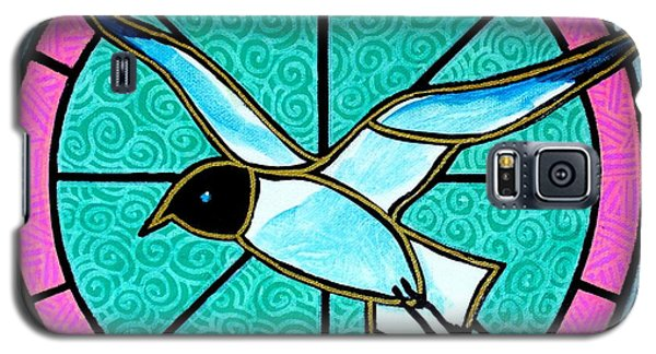 Galaxy S5 Case featuring the painting Seagull 4 by Jim Harris