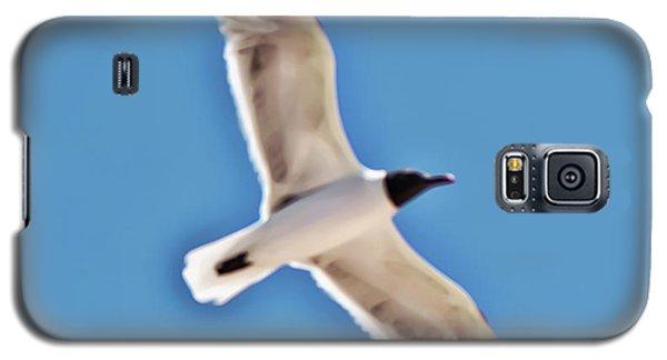 Seagull In Flight Galaxy S5 Case by Gina O'Brien