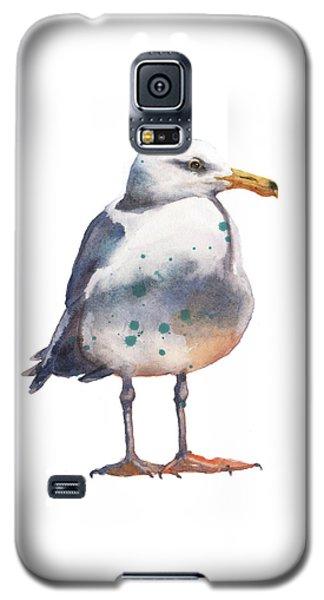 Seagull Print Galaxy S5 Case