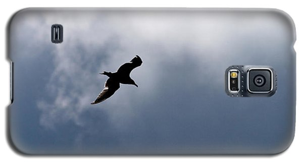 Galaxy S5 Case featuring the photograph Seagull's Sky 1 by Jouko Lehto