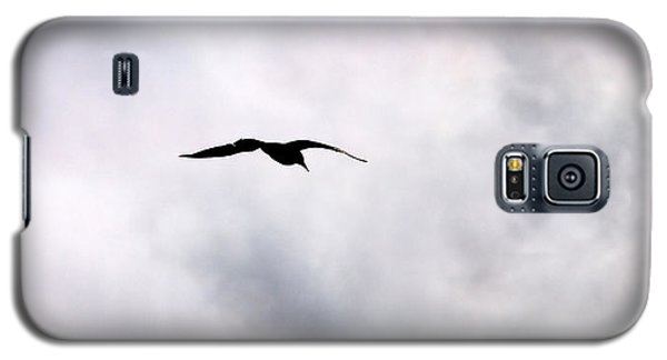 Galaxy S5 Case featuring the photograph Seagull's Sky 2 by Jouko Lehto