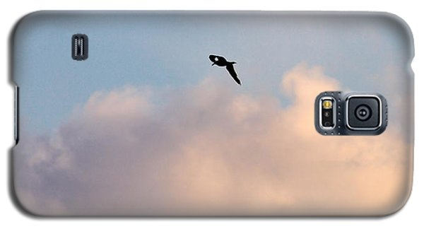 Galaxy S5 Case featuring the photograph Seagull's Sky 3 by Jouko Lehto