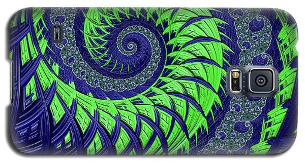 Seahawks Spiral Galaxy S5 Case