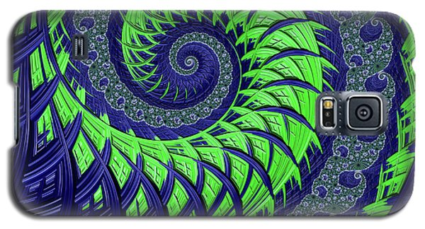 Seahawks Spiral Galaxy S5 Case