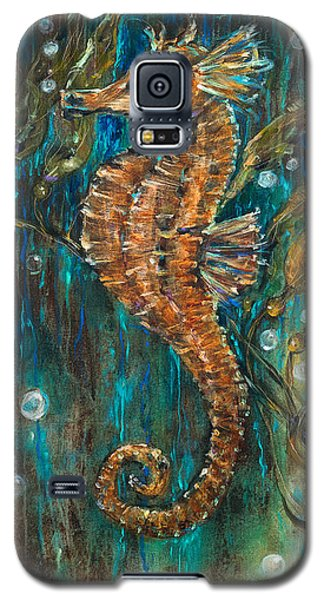Seahorse And Kelp Galaxy S5 Case