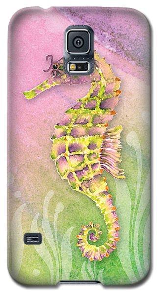 Seahorse Violet Galaxy S5 Case