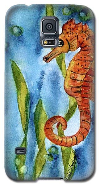 Seahorse With Sea Grass Galaxy S5 Case