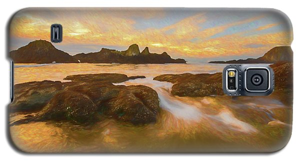 Seal Rock Sunset Galaxy S5 Case