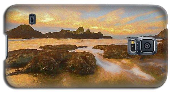 Seal Rock Sunset Galaxy S5 Case