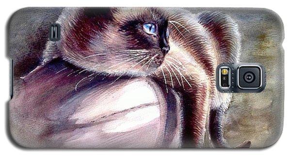 Siamese Cat 2 Galaxy S5 Case