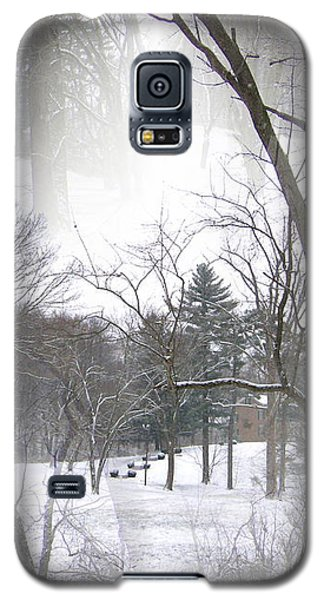 Galaxy S5 Case featuring the photograph Seamless Home On The Hill by Skyler Tipton
