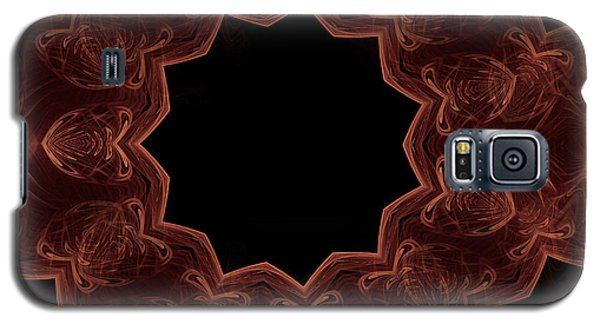 Seamless Kaleidoscope Copper Galaxy S5 Case