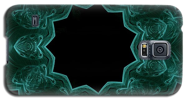 Seamless Kaleidoscope Green Galaxy S5 Case