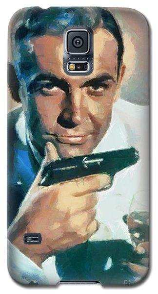 Sean Connery Galaxy S5 Case by Sergey Lukashin