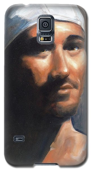 Galaxy S5 Case featuring the painting Sean by Diane Daigle