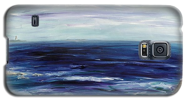 Seascape With White Cats Galaxy S5 Case