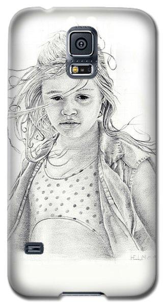 Seashells Galaxy S5 Case by Mayhem Mediums