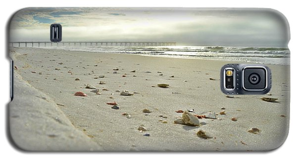 Galaxy S5 Case featuring the photograph Seashells On The Seashore by Renee Hardison