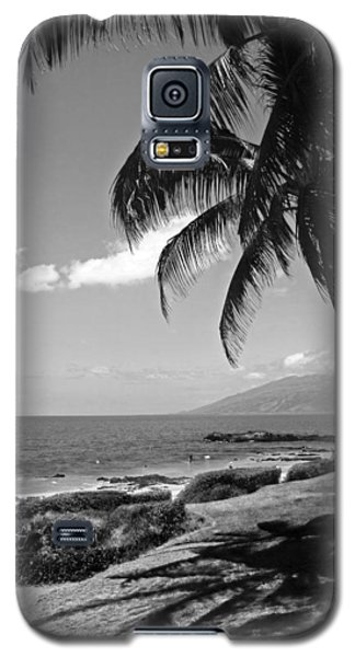 Seashore Palm Trees Galaxy S5 Case