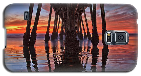 Seaside Reflections Under The Imperial Beach Pier Galaxy S5 Case