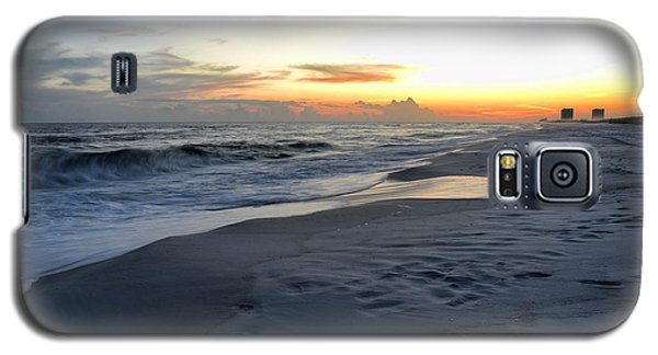 Galaxy S5 Case featuring the photograph Seaside Sunset by Renee Hardison