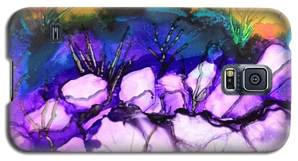 Galaxy S5 Case featuring the painting Seaside by Suzanne Canner