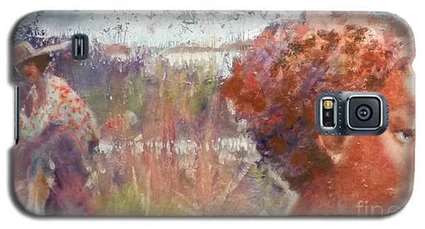 Galaxy S5 Case featuring the painting Seasons Of Sweetgrass by Gertrude Palmer