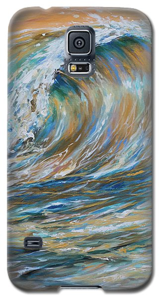 Seaspray Gold Galaxy S5 Case
