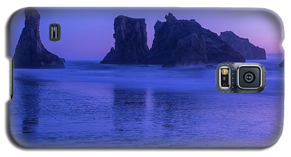 Seastack Sunset In Bandon Galaxy S5 Case