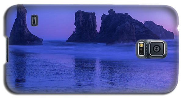 Seastack Sunset In Bandon Galaxy S5 Case