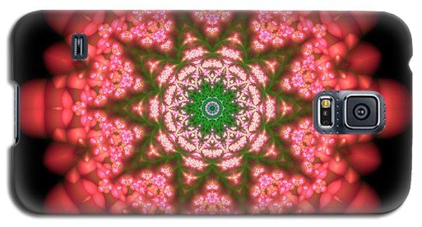 Galaxy S5 Case featuring the digital art Seastar Lightmandala  by Robert Thalmeier