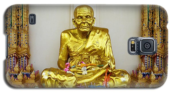 Seated Holy Man At Koh Samui Galaxy S5 Case