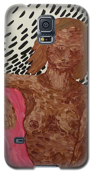 Seated Nude Galaxy S5 Case