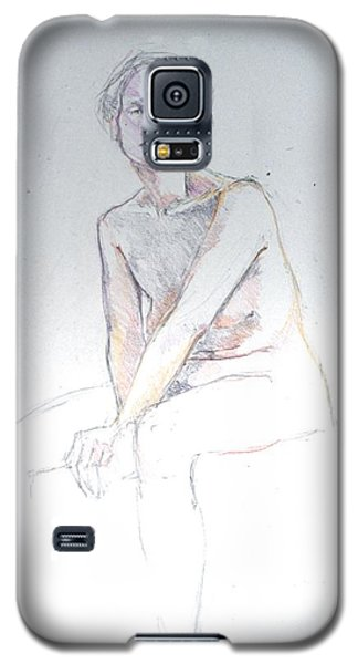 Seated Study 2 Galaxy S5 Case