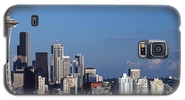 Seattle And Mt Rainier Galaxy S5 Case