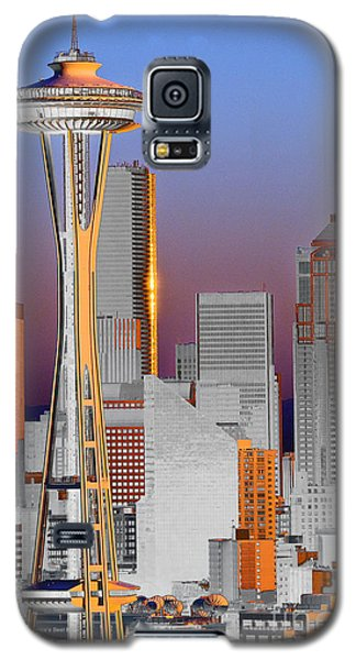 Seattle Architecture Galaxy S5 Case by Larry Keahey