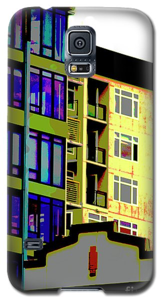 Galaxy S5 Case featuring the photograph Seattle Architecture by Yulia Kazansky