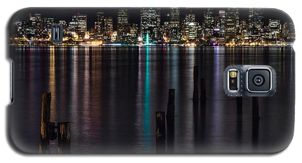 Seattle At Night Galaxy S5 Case
