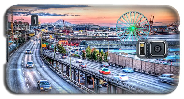 Seattle At Twilight Galaxy S5 Case by Spencer McDonald