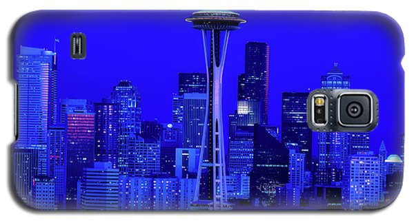 Seattle Blue Hour Galaxy S5 Case by L O C
